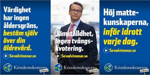 Kristdemokraterna i valet!