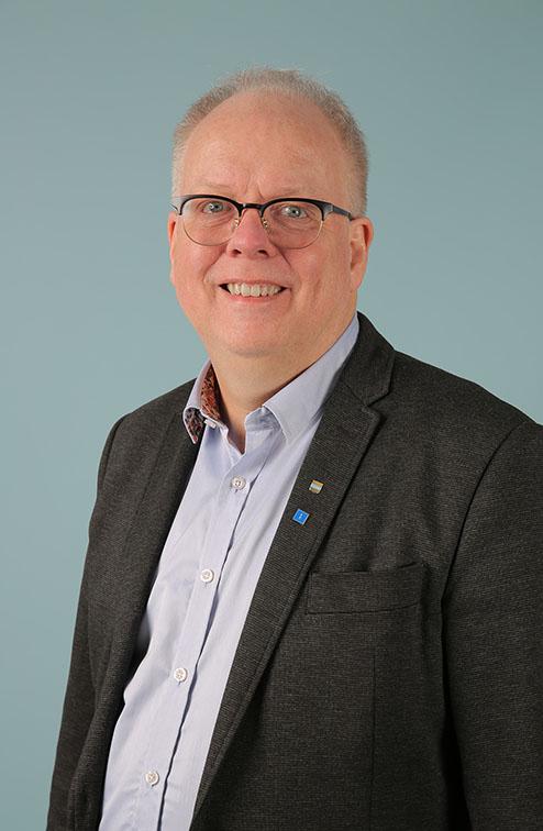 Håkan Johansson, kandidat i kommun- och landstingsvalen. (Foto: Lennart Molin)