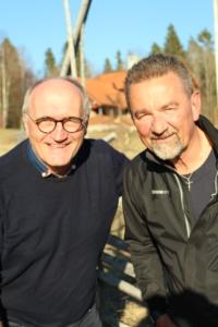 Lars-Erik Olofsson och Stephen Jerand