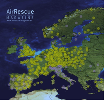 Ambulanshelikoptrar i Europa. Källa: Air Rescue Magazine
