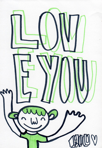 """LOV E YOU"". Foto: ""Hiutwig""/Flickr (CC BY-SA)"