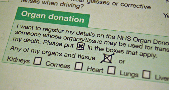 Organdonation. Foto: Magnus D/Flickr (CC BY-SA)