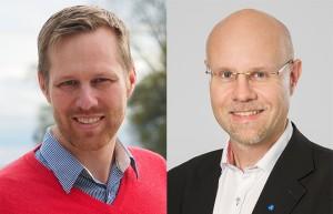 Björn-Owe Björk och Jonas Segerstam är författare.