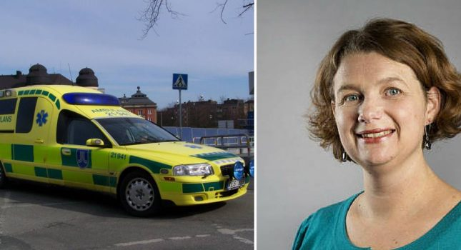 Anna-Karin Klomp vill satsa på ambulans i Knivsta.