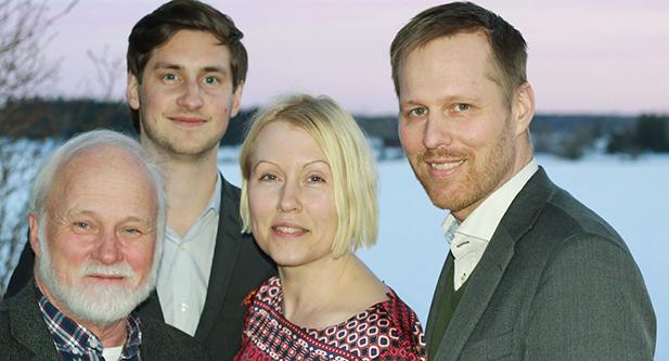 Gunnar Gidlund, Pontus Lamberg, Synnöve Adéll och Björn-Owe Björk toppar KD Knivstas kommunlista.