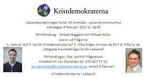 Årsmöte 2015-02-09