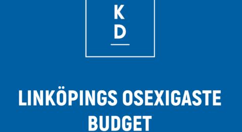 KD: Linköpings osexigaste budget