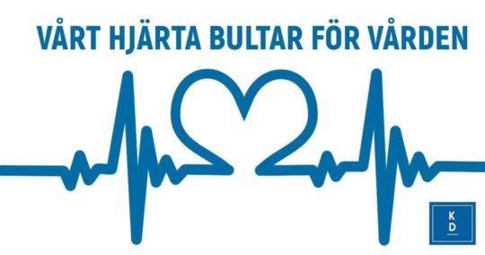 Vårt hjärta bultar för vården