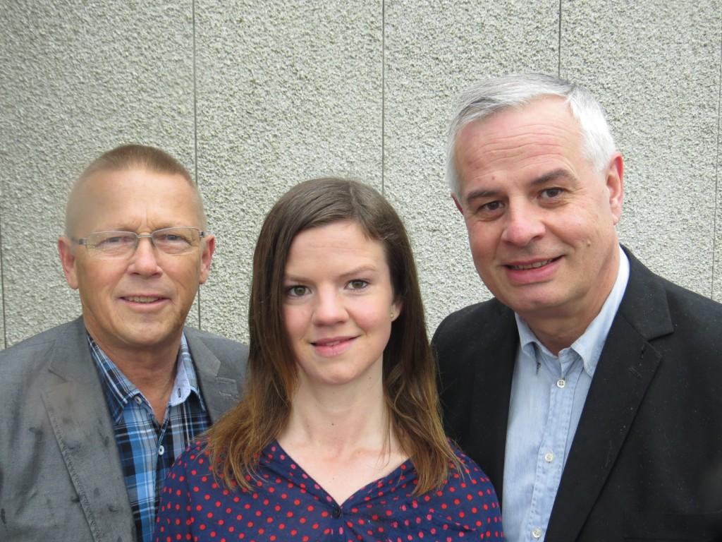Nils-Ingvar Graan, Madeléne Gyllenhammar Jan Gyllenhammar | Foto: Kristdemokraterna Motala - pressbild_valet2014