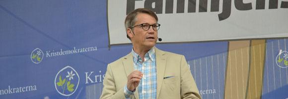 Göran Hägglund talar i Almedalen 2014 | Foto: Kristdemokraterna - Tal-i-almedalen