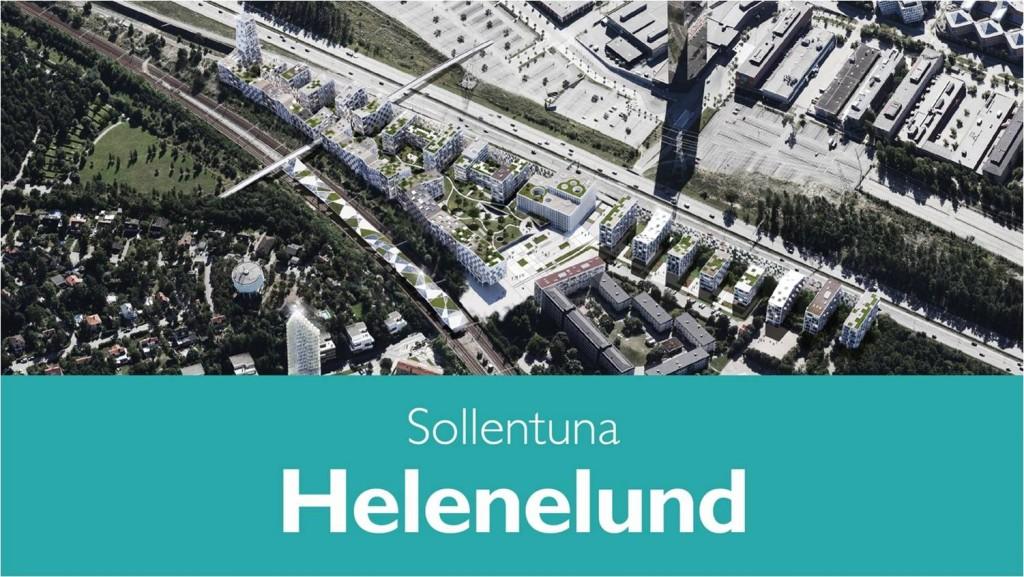 Stadsutveckling i Helenelund