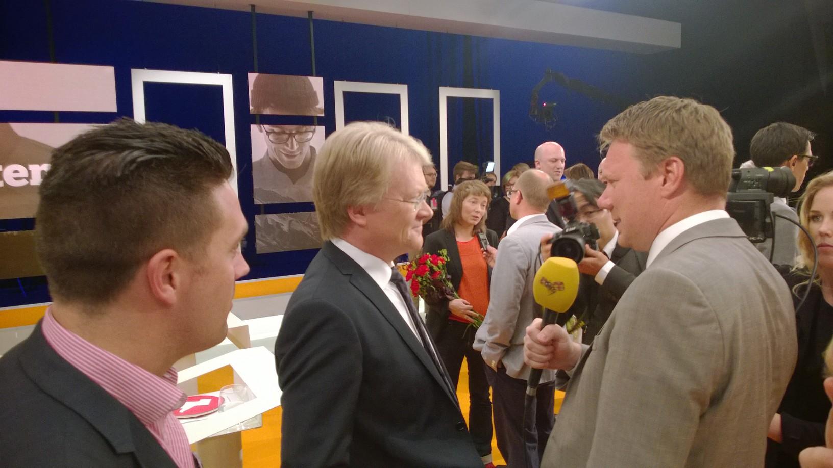 Lars Adaktusson i slutdebatt i SvT
