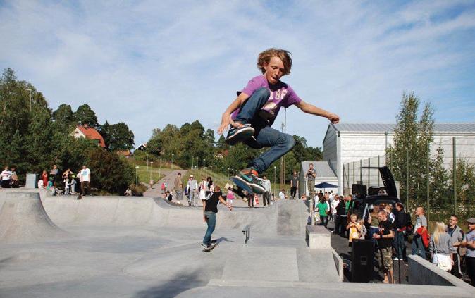 Skatepark i Sollentuna.
