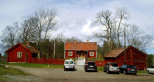 Bögs gård på Järvafältet. Foto: Udo Schröter/Wikimedia Commons