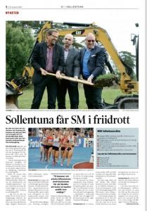 Faksimil från Vi i Sollentuna den 8 augusti 2014.