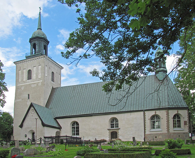 "Sollentuna kyrka. Foto: ""Larske""/Wikimedia Commons"