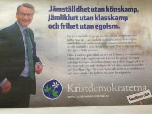 Bra budskap från Göran Hägglund