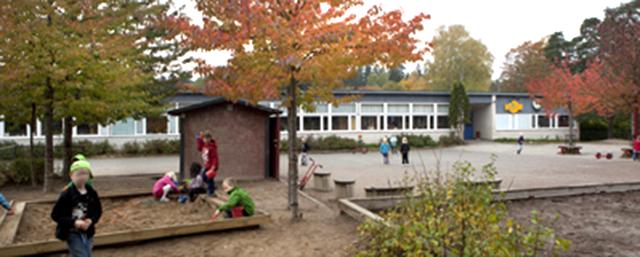 Eriksbergsskolan. Foto: Sollentuna kommun