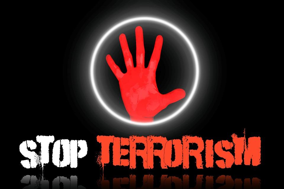 Stoppa terrorismen.