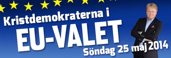 Kristdemokraterna i Europavalet!
