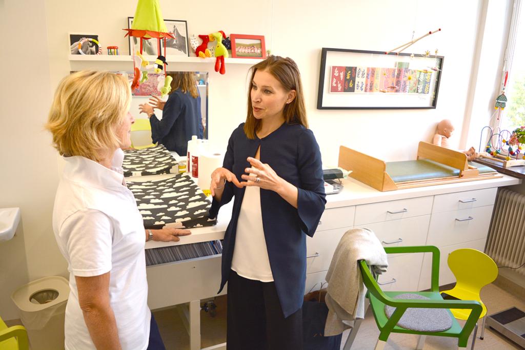 Ella Bohlin (KD) besöker BVC.