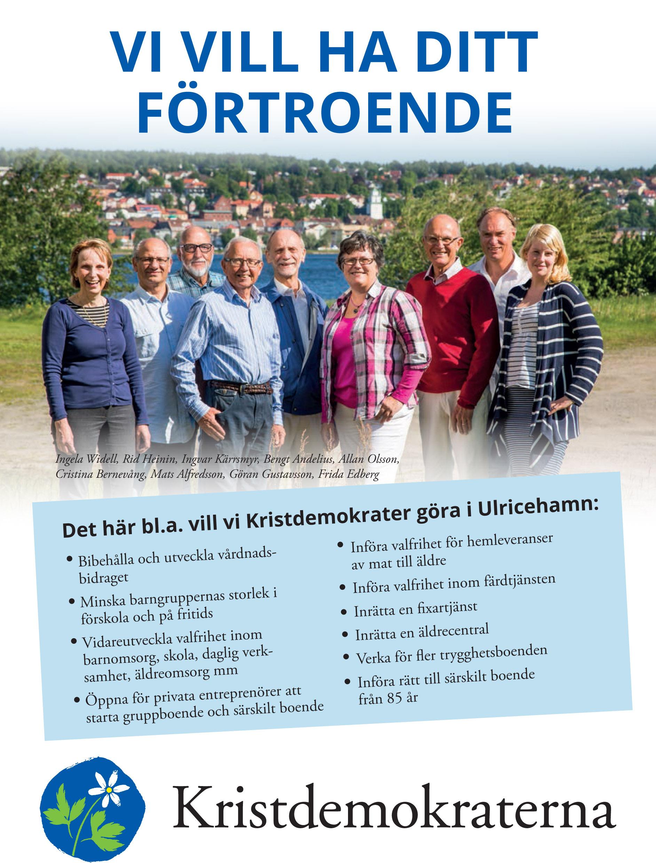 ValbroschyrKD_Uhamn2014 framsida
