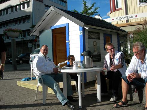 Kristdemokraternas valstuga 2010. (Foto: Håkan Johansson)