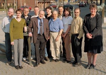 Kristdemokrater på väg in i Värnamo kommunfullmäktige (Foto: Fotograf Mäster Olof, Värnamo)