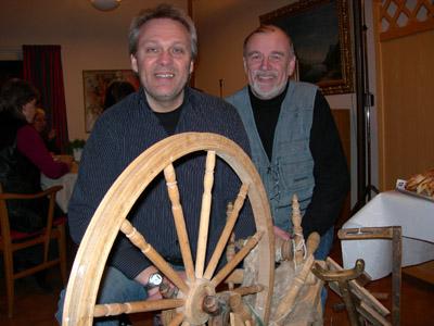 Arnold Carlzon och Per-Gunnar Dahlgren. (Foto: Håkan Johansson)
