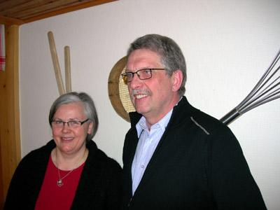 Lena Freij och Lars-Åke Egerbo. (Foto: Håkan Johansson)