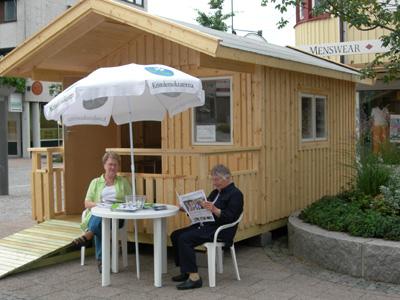 Kristdemokraternas valstuga i Värnamo 2006. (Foto: Håkan Johansson)