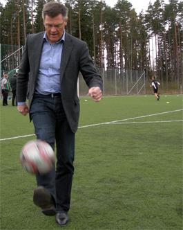 Värnamo behöver en ny fotbollsarena. (Foto: Håkan Johansson)