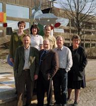 Kerstin Sneath, Xhilda Bushati, Ibrahim Candemir,Gunnar Crona, Christer Fjordevik, Håkan Johansson,Margareta Lindahl. (Foto: Fotograf Mäster Olof, Värnamo)