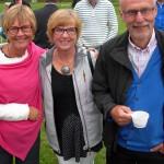 Annelie Claesson och Gunnel och Gunnar Crona var också där. (Foto: Håkan Johansson)