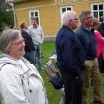 Lena Freij och Stig Claesson syntes också i vimlet. (Foto: Håkan Johansson)