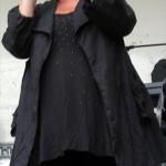 Melodifestivalslegenden Pernilla Emme Alexandersson stod för underhållningen. (Foto: Håkan Johansson)