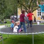 Självklart fanns det mycket att göra för barnen. (Foto: Håkan Johansson)
