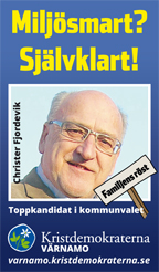 Miljösmart? Självklart! Christer Fjordevik. Toppkandidat i kommunvalet. Familjens röst. Kristdemokraterna Värnamo. varnamo.kristdemokraterna.se