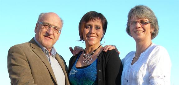 Christer Fjordevik, Värnamo, Camilla Rinaldo Miller, Bredaryd och Monica Johnsson, Rydaholm, är Kristdemokraternas toppkandidater i kommunvalet. (Foto: Håkan Johansson)