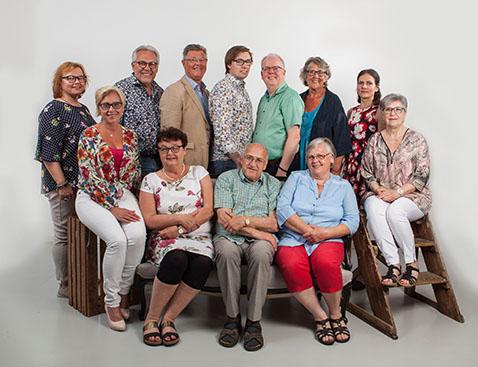 Några av Kristdemokraternas kandidater i valet till Värnamo Kommunfullmäktige. (Foto: Studiofotograferna)