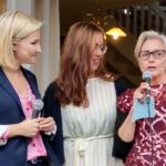 Toppar valsedlarna för Kristdemokraterna gör Ebba Busch Thor (riksdagen), Pia Skogsberg (regionen) och Camilla Rinaldo Miller (kommunen). Kvotering? Inte en chans! (Foto: Håkan Johansson)
