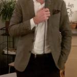 Andreas Carlson, gruppledare i Riksdagen, var årsmötestalare. (Foto: Håkan Johansson)