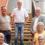 Den kristdemokratiska gruppen vid budgetfullmäktige brahim Candemir, Stig Claesson, Gunnar Crona, Håkan Johansson, Camilla Rinaldo Miller och Lena Freij. (Foto: David Alin)