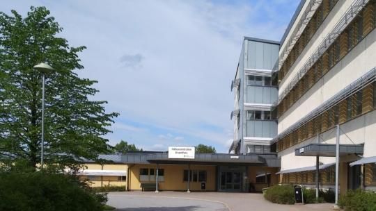 Hälsocentralen i Kramfors, en av Region Västernorrlands egna primärvårdsenheter.