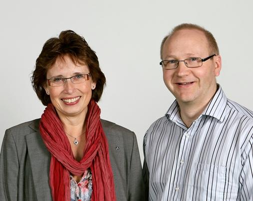 Gudrun Brunegård och Torbjörn Sandberg
